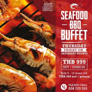 Seafood BBQ Buffet – Holiday Inn Pattaya @ Holiday Inn Hotel Pattaya | Muang Pattaya | Chang Wat Chon Buri | Thailand