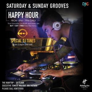 Holiday Inn Pattaya: Saturday & Sunday Grooves @ HOLIDAY INN PATTAYA | Pattaya City | Chon Buri | Thailand