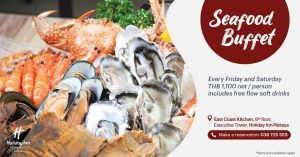 Seafood  Buffet – Holiday Inn Pattaya @ Holiday Inn Hotel Pattaya | Muang Pattaya | Chang Wat Chon Buri | Thailand
