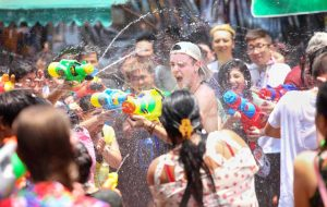 """Wan Lai"" Pattaya Songkran Splash Out at Benihana @ Benihana Restaurant"