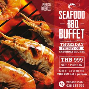 MAY SPECIAL! --- 25% off Seafood BBQ Buffet at Holiday Inn -- Pre-booking ONLY
