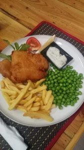 OAP Fish n Chips Special - The London Inn @ The London Inn