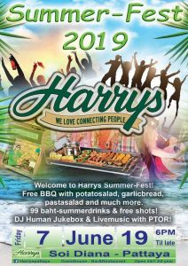 Harry's SUMMER FEST 2019 @ Harry's