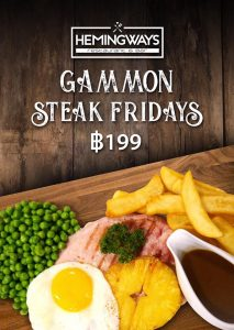Friday Special at Hemingways @ Hemingways Jomtien