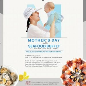 Mother's Day Seafood Buffet @ Holiday Inn Pattaya