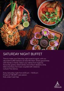 Saturday Night Buffet @ Sala Rim Nam