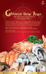 Chinese New Year @ Holiday Inn Hotel