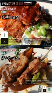 Food Promotion Of The Month @ CROSS To Vibe Pattaya Seaphere