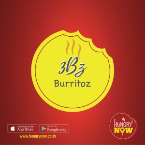 '3bz BURRITOZ' Food delivery to your doorstep by HUNGRYNOW.CO.TH